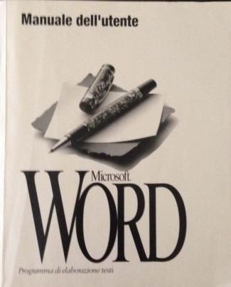 Il manuale utente di Microsoft Word 2.0 book cover