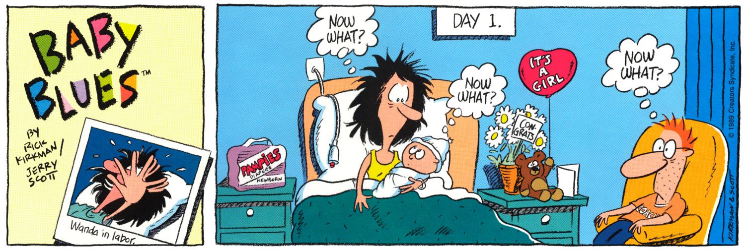 Baby Blues 1st strip